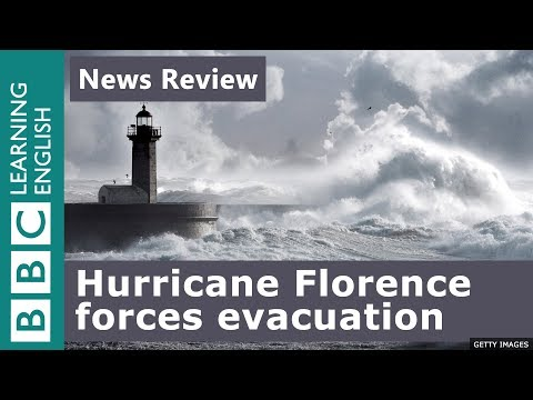 Hurricane Florence forces