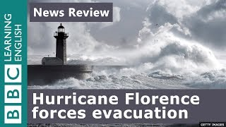 Hurricane Florence forces evacuation: BBC News Review