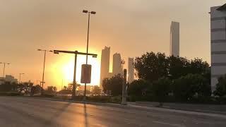 Abu Dhabi Sunset Golden Hour