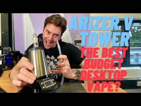 The Arizer V-Tower – The Best Budget Desktop Vape?