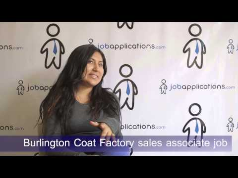 Burlington Coat Factory Interview - Sales Associate