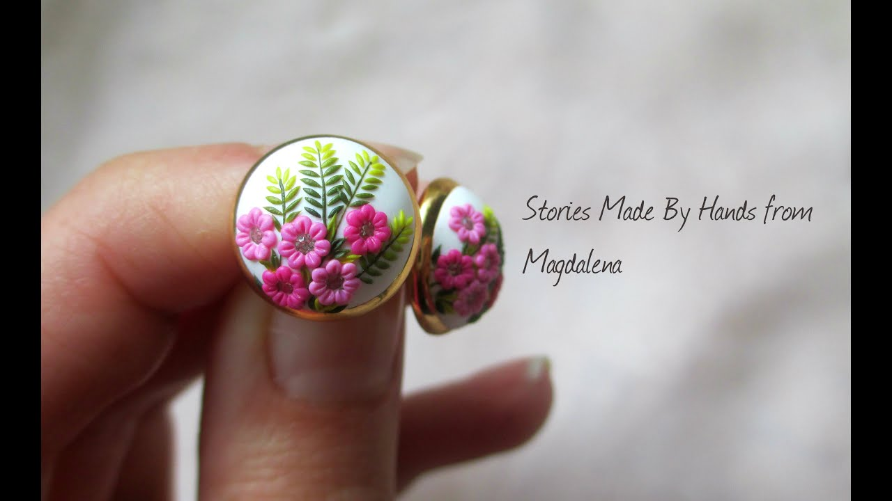 Interview About Polymer Clay Jewelry With Embroidery