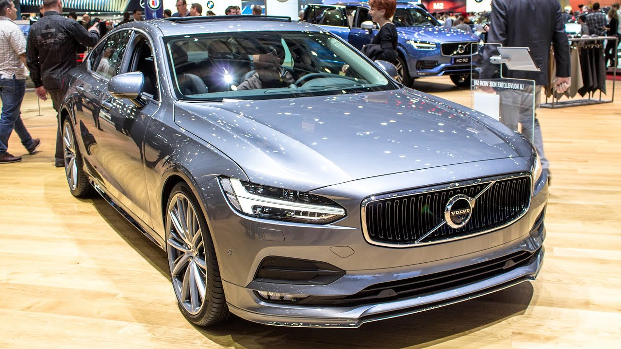 new volvo s90 t5 geneva motor show 2016 hq youtube. Black Bedroom Furniture Sets. Home Design Ideas