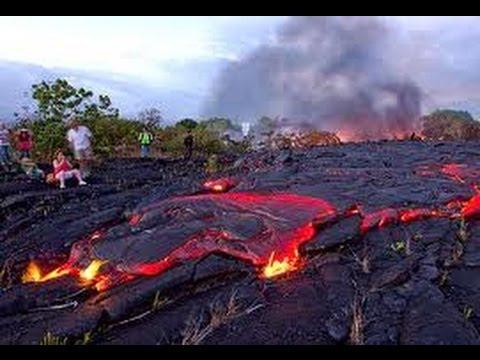 Erupción Volcán Kilauea / Eruption Kilauea Volcano [IGEO