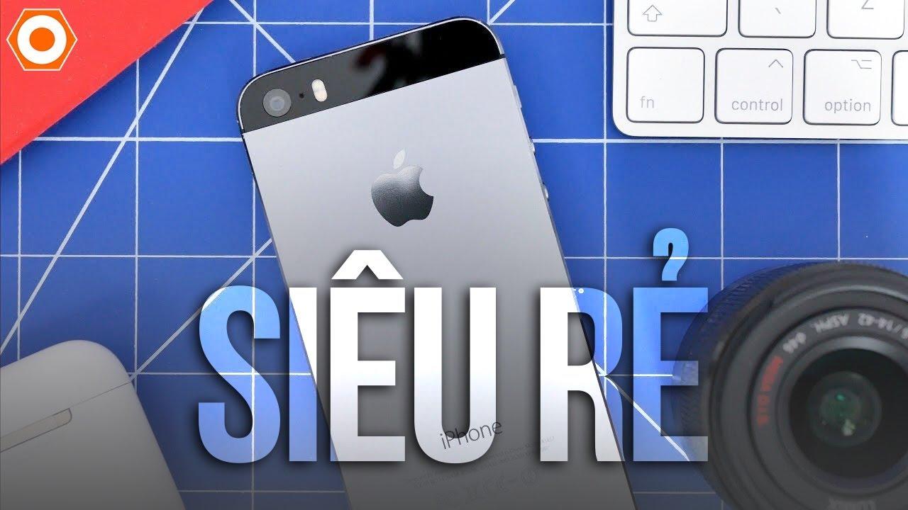 Trên tay iPhone 5s hơn 1 triệu – Còn máy nào ngon hơn?