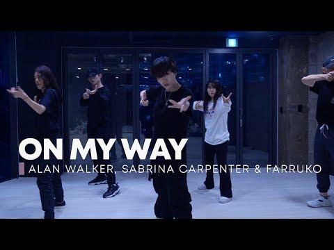 alan-walker,-sabrina-carpenter-&-farruko---on-my-way-/-very-choreography
