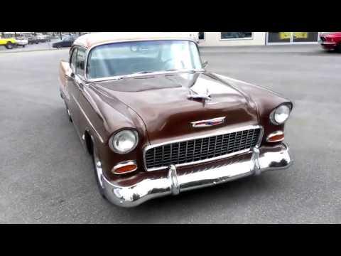 1955 Chevrolet 2 Door Hard Top Brown