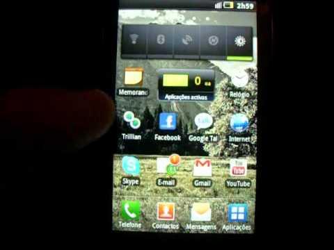 Samsung Galaxy 3 (i5800) Android 2.2 Revisão Parte 2