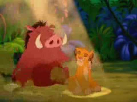 hakuna matata english with lyrics