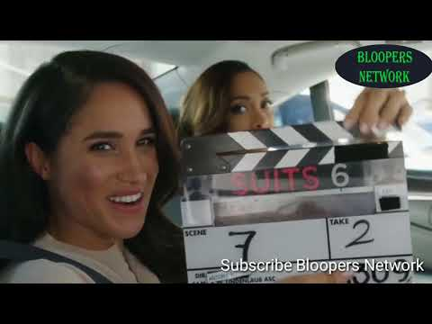 Suits Season 6 Bloopers and Gag Reel Meghan Markle,Gabriel Macht