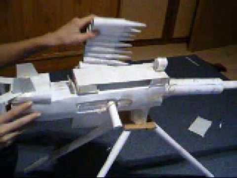 how to make a machine gun