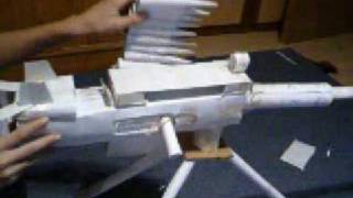 Paper M2 Brownig 50.Cal Machine Gun