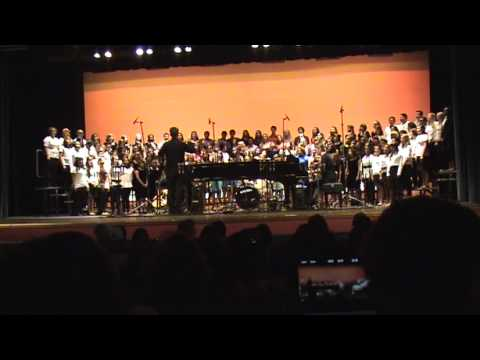 Woodrow Wilson Classical H.S. LB/CA  - Choral Fall Concert -- Combined Choirs -- Oseh Shalom