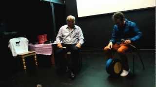 Reel - Micheal O hAlmhain and Eamonn Murray, Craiceann Bodhran Festival 2012