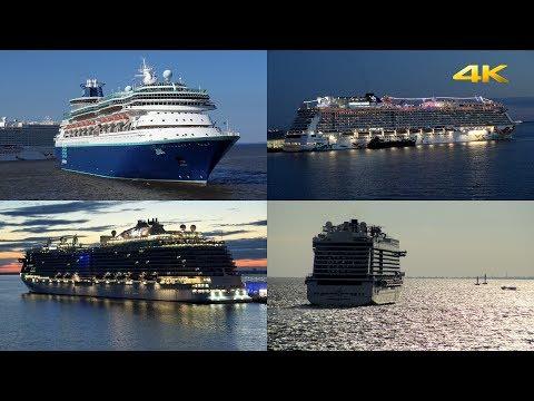 "Cunard ""Queen Elizabeth"" • Cruise Ship Traffic St. Petersburg, Russia • July 22/23, 2017"