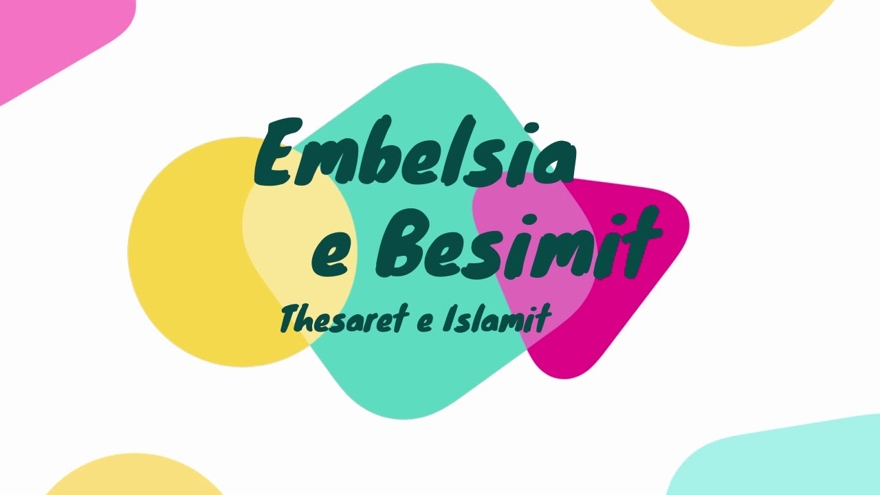 Download Thesaret e Islamit - Embelsia e besimit