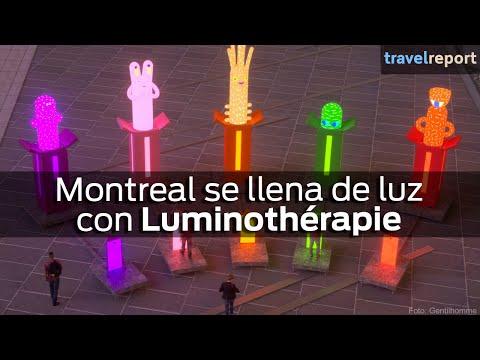 Montreal se llena de luz con Luminothérapie