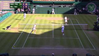 2015 Day 10 Highlights, Murray & Peers vs Erlich & Petzschner semi-final