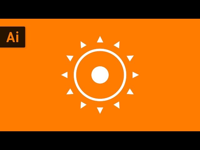 How to Duplicate Objects Around a Circle | Illustrator Tutorial