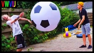 IF YOU NOT KIJK DEZE VIDEO YOU GET A BALL IN THE FACE! 😠⚽️ | VWVIJ #11