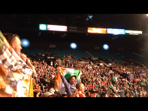 Thumbnail: CRAZY Conor McGregor Irish Fans in Vegas! (HIGHLIGHTS)