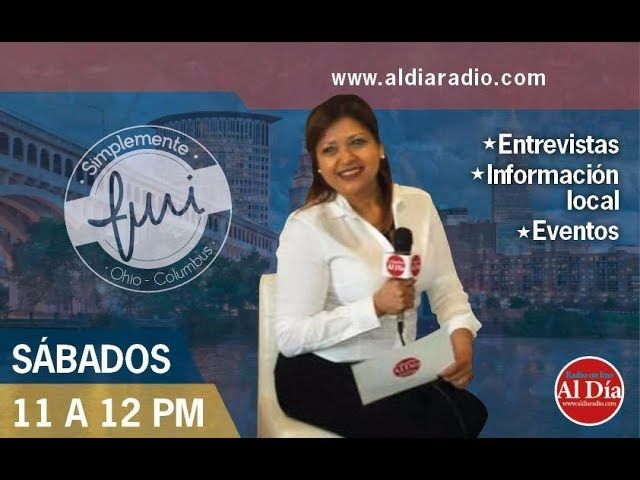 SIMPLEMENTE YURI 02/03/2018: Entrevista a Claudia De León