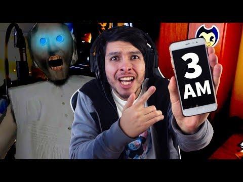 NUNCA JUEGUES GRANNY A LAS 3 AM !! *MUCHO TERROR* - Granny (Horror Game)