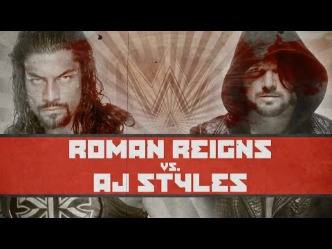 Roman Reigns battles AJ Styles tonight at WWE Extreme Rules, live on WWE Network