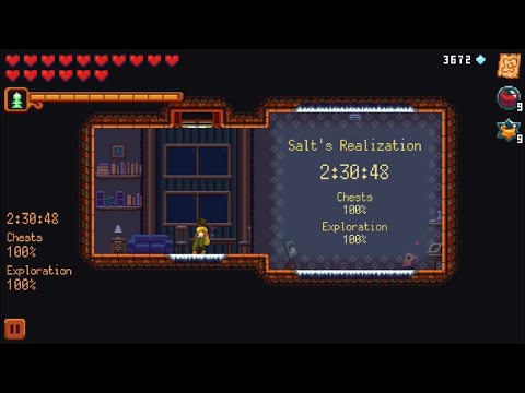 Dandara: (100% All Chests,Exploration,Glossary) Full IOS Gameplay Walkthrough (HD)