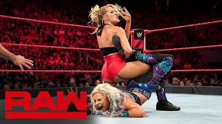 Dana Brooke vs. Lacey Evans: Raw, Sept. 16, 2019