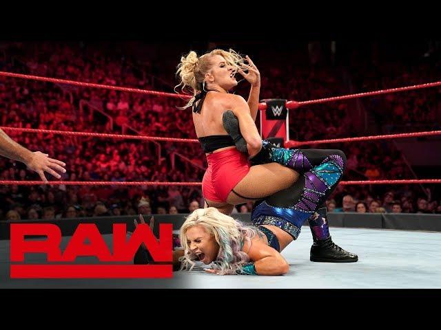 Dana Brooke vs. Lacey Evans: Raw, Sept. 16, 2019