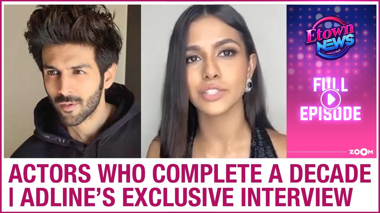 Actors who complete 10 years in Bollywood | Adline Castelino's exclusive interview | E-Town News