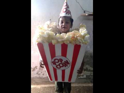 Pop Corn Fancy Dress & Speach
