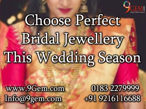 Choose Perfect Bridal Jewellery This Wedding Season