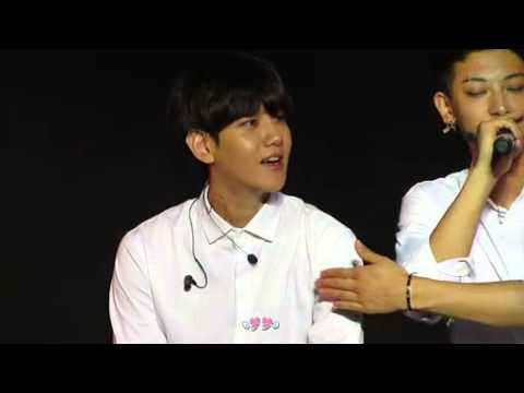 [Fancam] 140817 Nanjing Samsung Galaxy Music Festival - Baekhyun Tao Focus