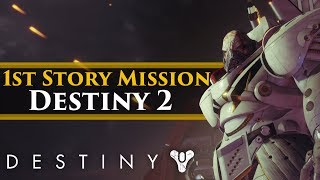 Destiny 2 - 1st story mission! All Cinematic Cutscenes! PS4 Pro Gameplay!
