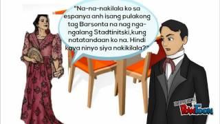 Noli Me Tangere Kabanata Ang Hapunan Margaux