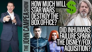 Star Wars The Last Jedi Box Office Potential With Huge Positive Buzz - The John Campea Show