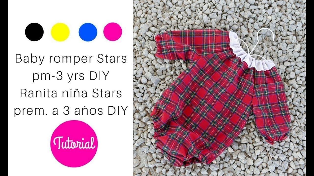 DIY Ranita para niñas mod. Stars prematuro a 3 años || Videotutorial ...
