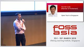 Opentech in Singapore -Teo Ser Luck- FOSSASIA 2018