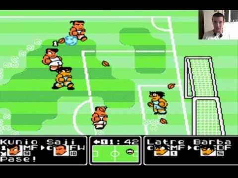 Kunio Kun No Netketsu Soccer League Nintendo Youtube