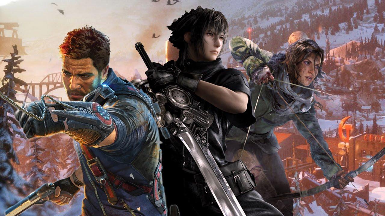 Square Enix Press Conference E3 2015 Youtube