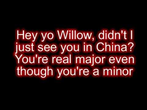 FireBall - Willow Smith ft Nicki Minaj (Karaoke)