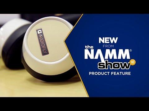 Live at NAMM 201 - Audio Fly AF240 Headphones