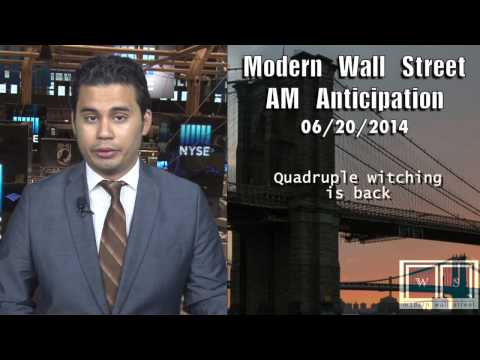 AM Anticipation: Futures flat, quadruple witching looms, & Obama to send military advisers to Iraq