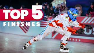 Top 5 Finishes | Red Bull Crashed Ice 2017