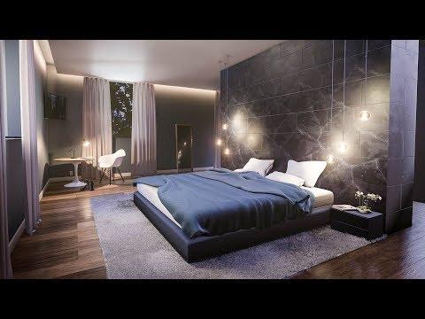Create a Modern Bedroom in Blender in 35 Minutes