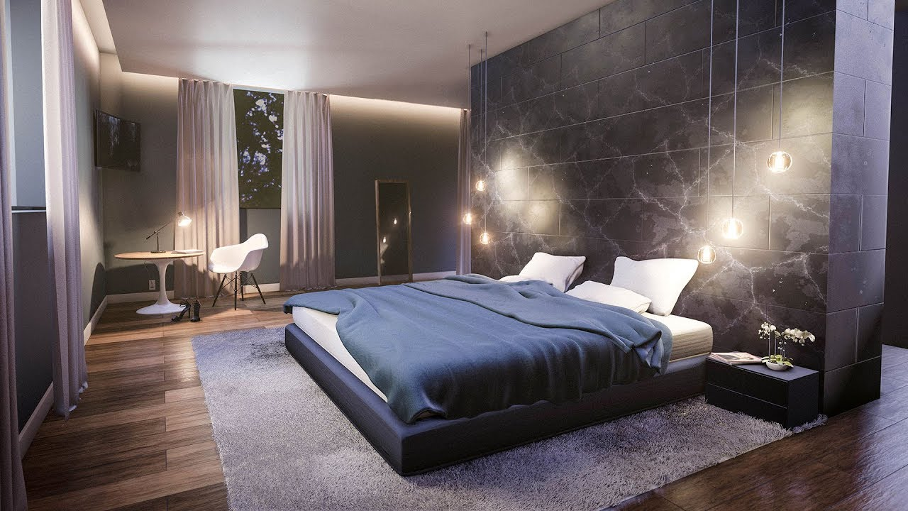 Create a Modern Bedroom in Blender in 35 Minutes - YouTube on Model Bedroom Ideas  id=16355