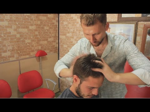 ASMR Turkish Barber Face,Head And Back Massage 130  💆♂️👍👍💈