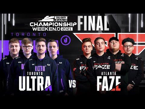 Champs Final | @Toronto Ultra vs @Atlanta FaZe  | Championship Weekend | Day 4